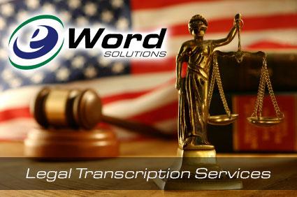 legal transcriptions services